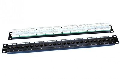 Hyperline PP3-19-24-8P8C-C5E-110D Патч-панель 19